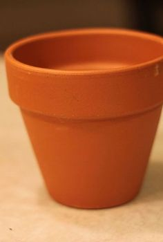 rope wrapped amp painted pots, crafts, gardening