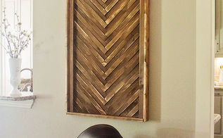 diy wall art using cheap wood shims, crafts, Wall Art DIY