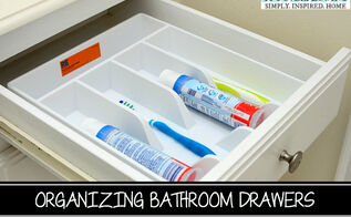 organizing kids bathroom drawers, bathroom ideas, organizing