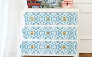 top 10 furniture stenciling tips, painted furniture, See the full 10 tips here