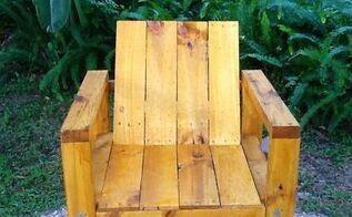 pallet chair, diy, painted furniture, pallet
