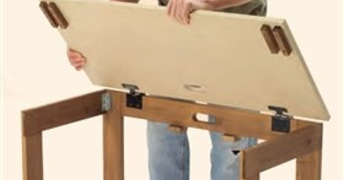 What Type Of Hinges Are Used On The Top Of This Folding