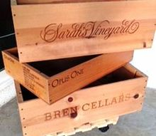 q wooden crates as planters line them before planting, crafts, gardening