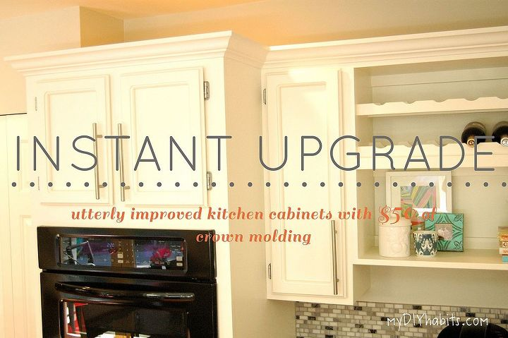 Adding Instant Drama to Kitchen Cabinets | Hometalk