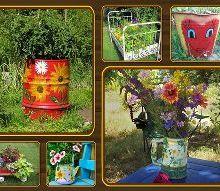 post, gardening, outdoor living