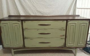 b e a u tiful buffet, painted furniture, Finished didn t have time to stage it oh well it is pretty on its own