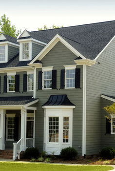 can aluminum siding be painted, curb appeal, home maintenance repairs, painting, Don t use anything less than a top of the line acrylic latex paint