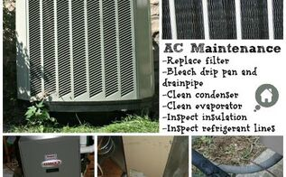 air conditioner maintenance, heating cooling, home maintenance repairs