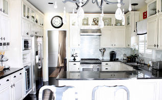 from builder basic to a custom kitchen with just a few simple changes, diy, doors, how to, kitchen backsplash, kitchen design