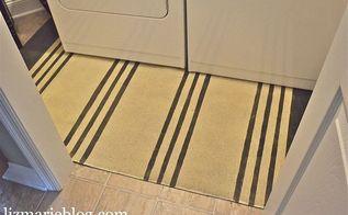diy painted rug, electrical, flooring, painting