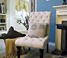the cottage we call home a home tour, home decor, One of my favorite settings in the living room This slipper chair was a steal at Marshall s HomeGoods