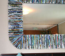 how to recycle magazines, home decor, repurposing upcycling, wall decor
