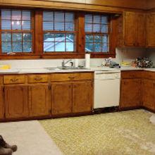 1800 s farmhouse kitchen remodel, home improvement, kitchen design, Before