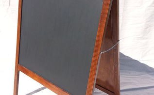 chalkboard sandwich board easel made from a crib, diy, how to, woodworking projects