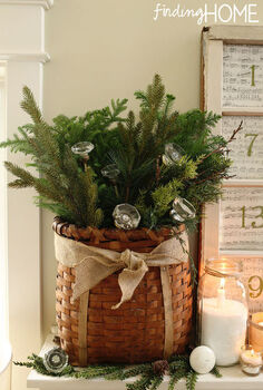 christmas mantel and advent calendar, christmas decorations, seasonal holiday decor