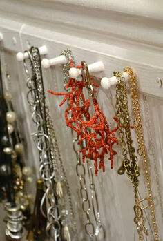 necklace organization, organizing, All my jewelry is ready to grab and go