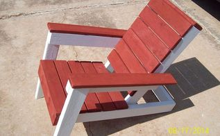 my cool summer pallet chair, diy renovations projects, pallet projects, repurposing upcycling