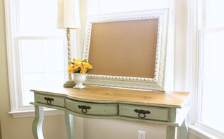 chalk painted desk, chalk paint, painted furniture