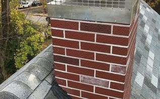 chimney repairs, home maintenance repairs, roofing, Completed