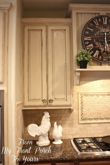Creating a French Country Kitchen Cabinet Finish Using Chalk Paint ...