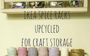 ikea spice racks for craft storage, craft rooms, shelving ideas, storage ideas, IKEA spice racks can be used for more than just spice storage