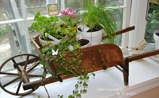 kitchen window herb garden, gardening, home decor, kitchen design, windows