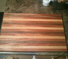 new cutting board handmade for me, woodworking projects