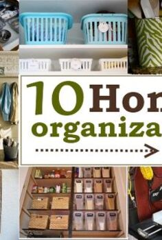 10 home organization ideas, organizing