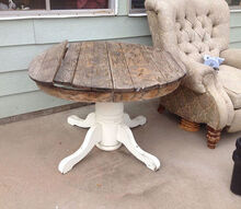 how to repair the top on a slide out pedestal table, diy, painted furniture, woodworking projects