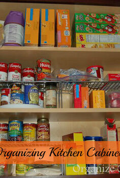 organizing kitchen cabinets, kitchen cabinets, kitchen design, organizing, Tips for organizing kitchen cabinets that hold breakfast foods drink cups and drink mixes