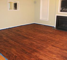 Laying Plywood Floors, Flooring, Woodworking Projects, The Floors Are All  Stained