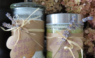 diy scented bath salts very easy and inexpensive gift idea, crafts