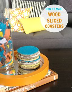 25 Rustic Wood Slice Projects Idea Box By Steph Crafting
