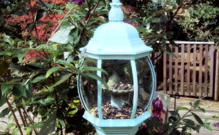 repurpose an old light fixture, gardening, repurposing upcycling