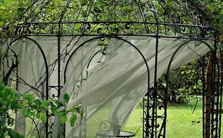 we rebuilt our grape arbor gazebo, gardening, landscape, outdoor living, Grape gazebo after