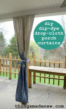 Drop Cloths Transformed Idea Box By Valerie Hometalk