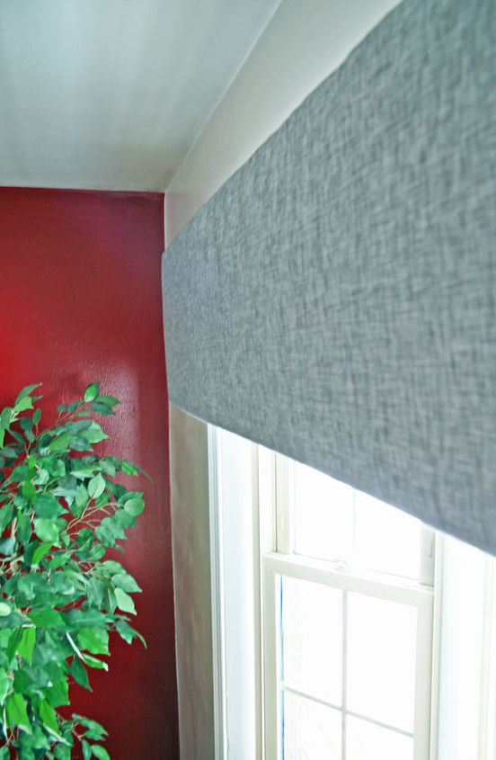 A High End Look For Less Foam Board Cornice Window