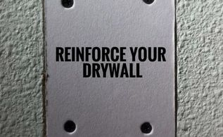 reinforcing drywall to mount stuff or fixing drywall see more at, diy, home maintenance repairs, how to, wall decor