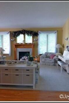 my living room retreat, home decor, living room ideas, painted furniture, The White Room
