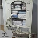 you ve got questions we ve got answers chalk paint, painting, Suzan at Simply Vintageous spruced up this old china cabinet with chalk paint giving it a rich antique look