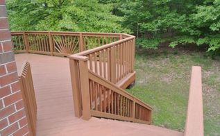 rust oleum deck restore d our deck, decks, diy, how to, The deck almost looks like composite now Rust Oleum has lots of different colors to choose from and we selected Saddle