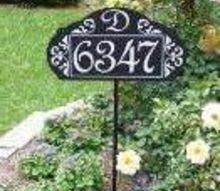 le paris garden sign, curb appeal, gardening, Le Paris Garden Sign