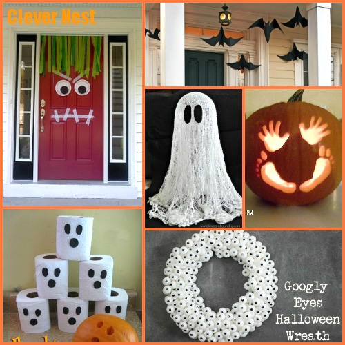 11 kid friendly halloween ideas crafts halloween decorations seasonal holiday decor 11 - Halloween Decorations For Kids