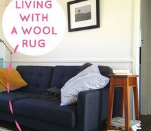 living with a shag wool rug, cleaning tips, flooring, How to live with a wool rug without going totally insane