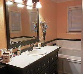 dresser to bathroom vanity bathroom ideas home decor painted furniture repurposing upcycling