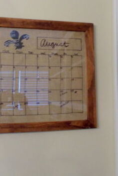 diy dry erase calendar board, cleaning tips, DIY Dry Erase Calendar Board