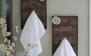 diy towel hooks, crafts, 10 DIY Towel Hooks