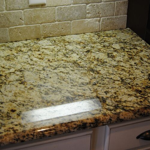 light stone sealed with permanent sealer with 100% transferrable lifetime warranty against staining and etching