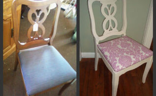 my desk space, home decor, painted furniture, Chair Before After approx Cost 10