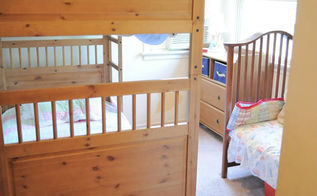 small space organizing ideas, bedroom ideas, organizing, Three kids in a tiny bedroom